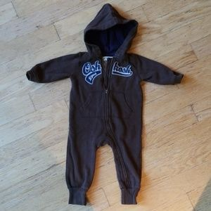 OshKosh hooded one piece